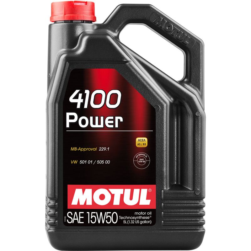 Motul 100273 4100 Power 15W-50 - 5 Liter