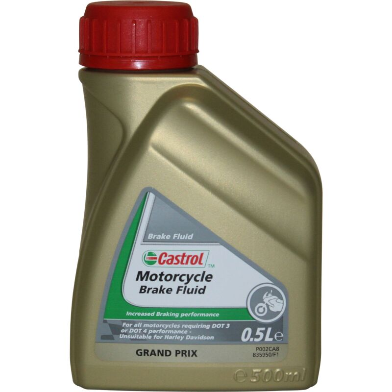 Castrol Motorcycle Brake Fluid - 0,5 Liter
