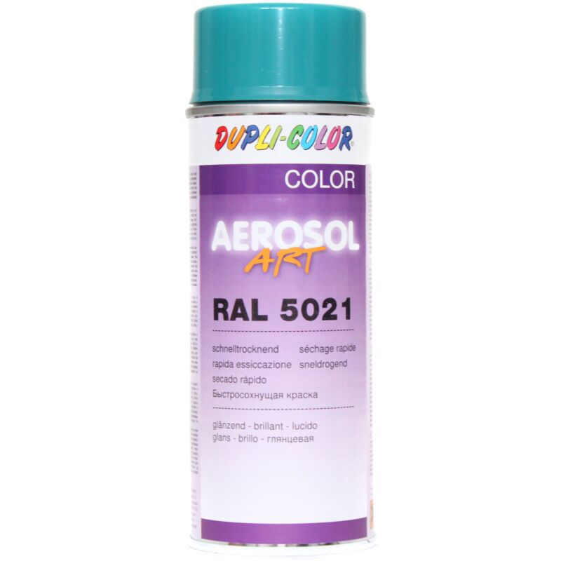 Dupli-Color 722592 Aerosol Art Ral 5021 glänzend 400 ml