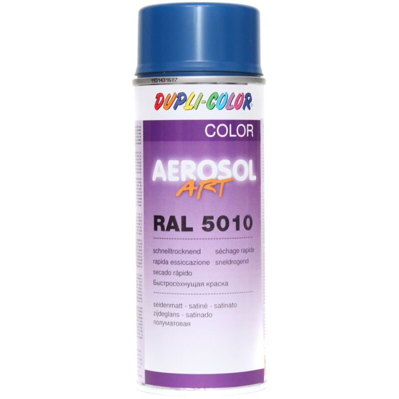 Dupli-Color 126185 Aerosol Art Ral 5010 seidenmatt 400 ml