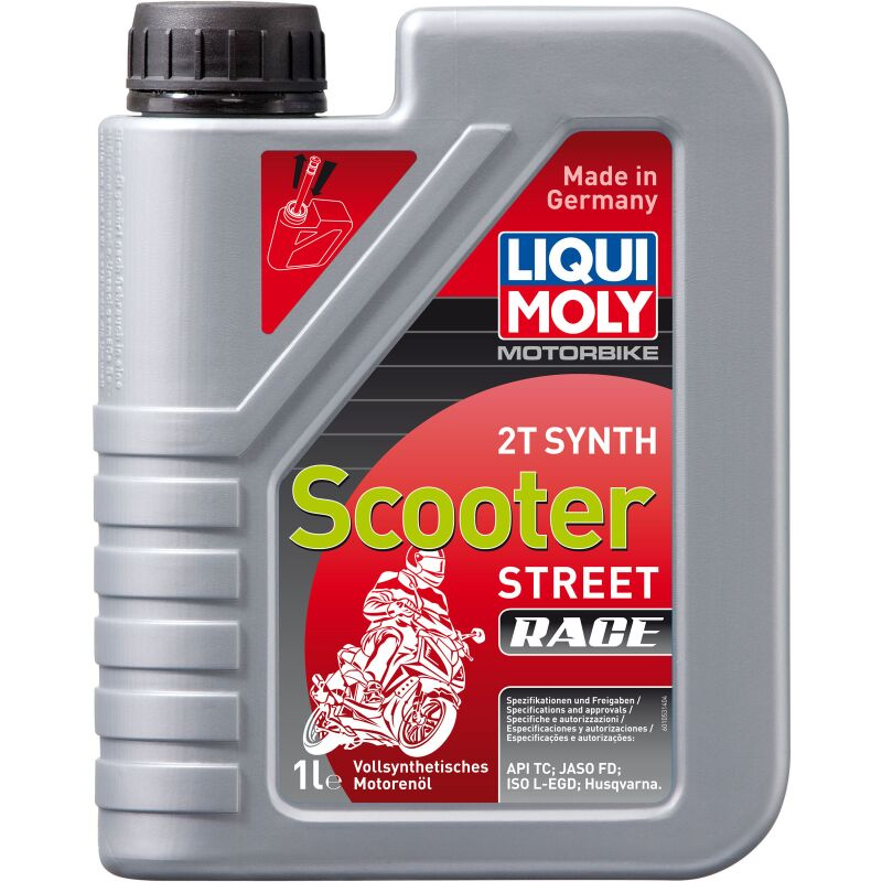 Liqui Moly 1053 Motorbike 2T Synth Scooter Race - 1 Liter