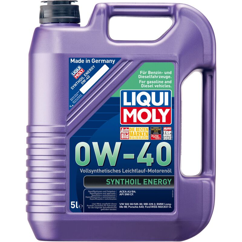 Liqui Moly 1361 Synthoil Energy 0W-40 - 5 Liter