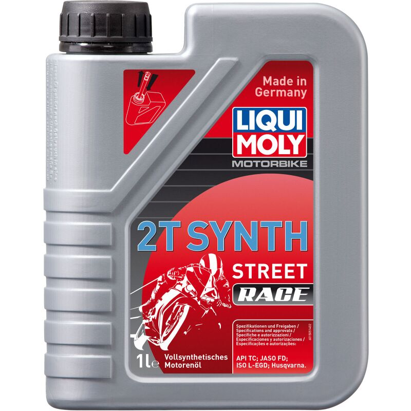 Liqui Moly 1505 Motorbike 2T Synth Street Race - 1 Liter