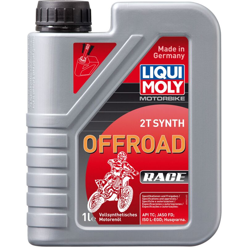 Liqui Moly 3063 Motorbike 2T Synth Offroad Race - 1 Liter